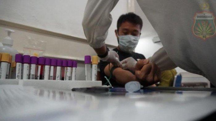 Hasil Pemeriksaan Virus Corona Negatif, Pemain Bhayangkara FC Wajib Jaga Kondisi Kesehatan di Rumah