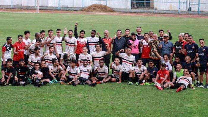 Jelang Liga 1 2020, Madura United Agendakan Uji Coba KontraPSHWdi Stadion Gelora Bangkalan