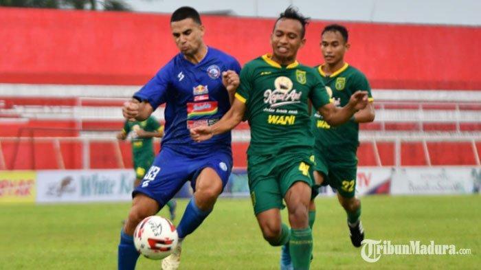 SetelahMadura United,Arema FC BidikPersebaya Surabaya JadiPartner Latihan Bersama