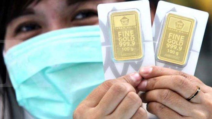 Emas Antam dan UBS di Pegadaian Alami Penurunan, Harga Emas pada Kisaran Rp 2.037.000 per 2 gram