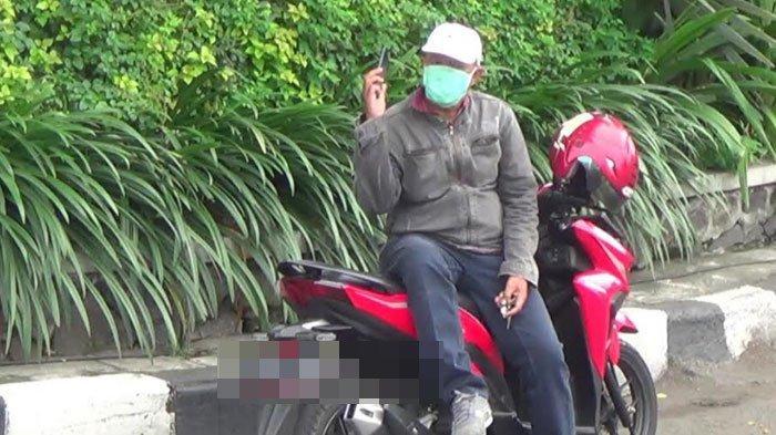 Ngaku Bosan, Pria Berstatus ODP ini Berkendara Naik Motor dan Akan Berkunjung ke Rumah Saudara