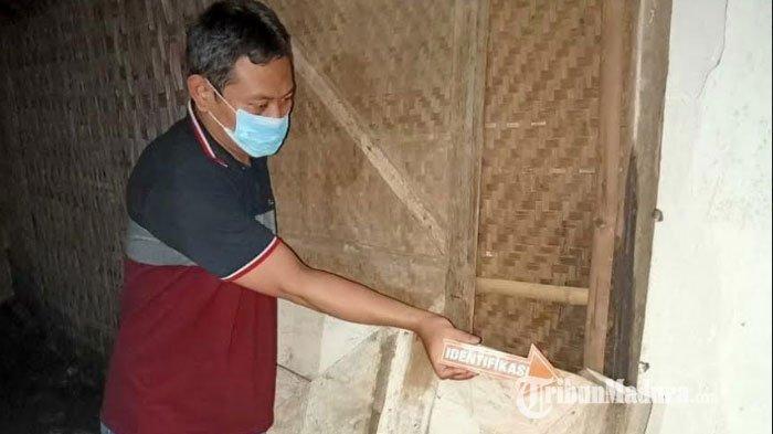 Penganiayaan Sadis di Mojokerto, Keponakan Bacok Pinggang Paman Pakai Sabit, Jengkel Miras Dibuang