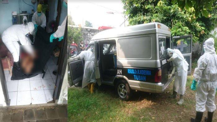 Pria di Tuban Ditemukan TewasTergeletak di Sofa Ruang Tamu Rumah, Warga Terkejut dan Lapor Petugas