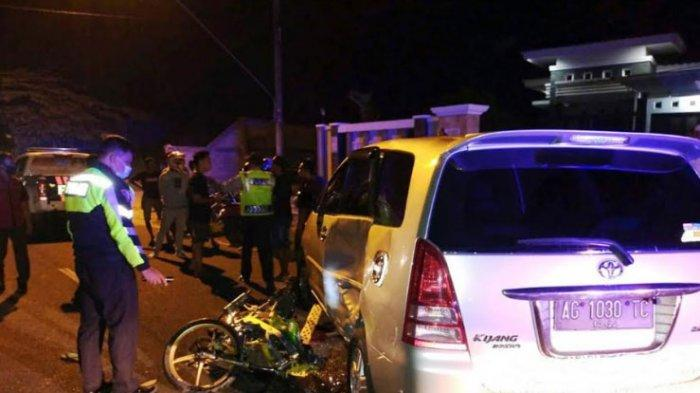 Terlibat Kecelakaan dengan Mobil Innova , Pelajar asal Kecamatan Ngantru Tulungagung Meninggal Dunia