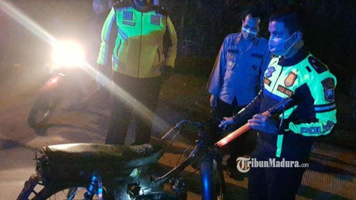 Meresahkan Warga Jelang Sahur, Aksi Balap Liar di Mojokerto Dibubarkan Polisi, Puluhan Motor Disita