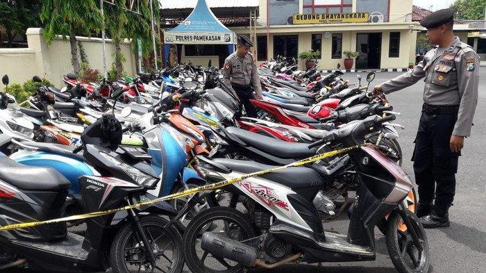 Beraksi di Depan Pendopo, 74 Motor Pembalap Liar Pamekasan Diamankan Polisi: Tak Bisa Tahun Baruan