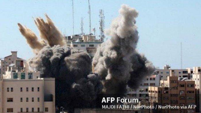 Ketegangan Jalur Gaza, Serangan Udara Israel Hancurkan Gedung Media Internasional dan Incar Hal ini