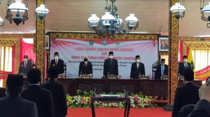 Serah Terima Jabatan Bupati Sumenep, Achmad Fauzi: Kami akan Menjadikan Kabupaten Sumenep Lebih Baik