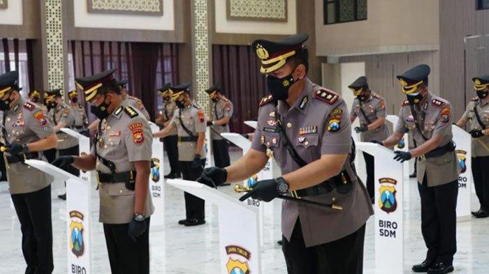 Daftar Mutasi Jabatan Kapolres Baru di Polda Jatim, Kapolres Sumenep Dijabat AKBP Rahman Wijaya