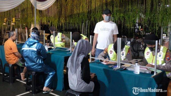 Jumlah Warga Sidoarjo yang Terjaring Operasi Yustisi Makin Menurun, Diimbau Tak Kendor Pakai Masker