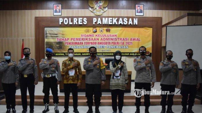 Tiga Peserta Bintara Polri di Pamekasan Tak Penuhi Syarat Kelulusan Administrasi Penerimaan Anggota