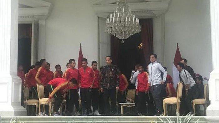 TimnasU-22 Dapat Bonus Tambahan dari Presiden Jokowi, Masing-Masing Kantongi Rp 200 Juta