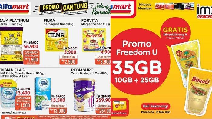 Katalog Promo Alfamart pada 30 Maret 2021, Promo Minyak Goreng Gratis Hingga Promo Sambut Ramadan