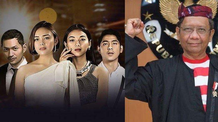 Pandangan Sinetron Ikatan Cinta Bagi Mahfud MD, Singgung Kesalahan Hukum, Fadli Zon Malah Mengkritik