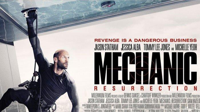 Sinopsis Film Mechanic Resurrection, Kisah Pensiunan Pembunuh Bayaran yang Jalani Misi Khusus