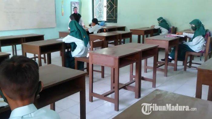 Pelaksanaan Sekolah Tatap Muka Berpeluang Ditunda, Dinas Pendidikan Jatim Singgung Kasus Covid-19