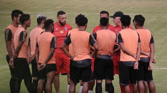 Latihan Perdana Arema FC Batal Digelar Sore Ini, Para Pemain Dapat Jatah Libur Lebih Banyak