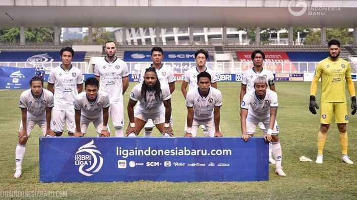 Meski Kehilangan El Capitano Arema FC, Bagas Adi Optimis Singo Edan Raih Kemenangan