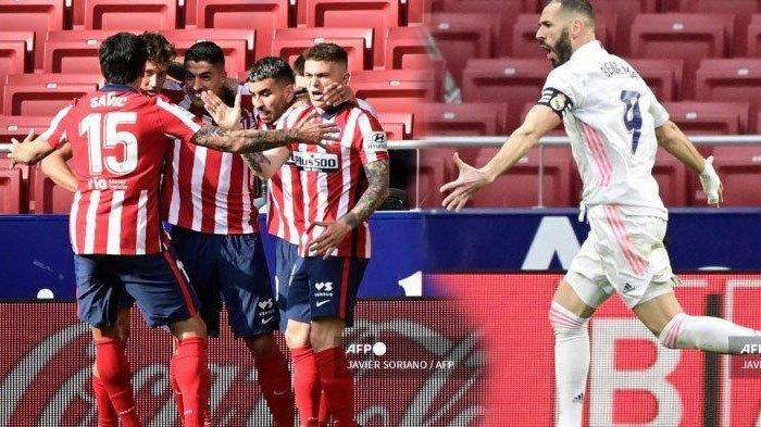 Hasil dan Klasemen Liga Spanyol - Atletico Madrid Kokoh di Puncak, Real Madrid Pepet Terus