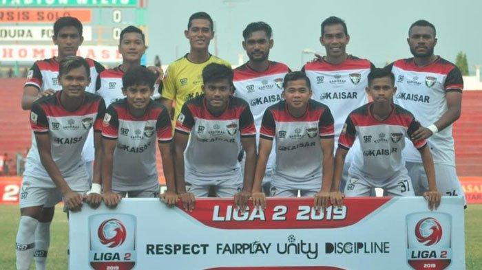 Madura FC Tahan Imbang Persis Solo 0-0, Pelatih Syukuri Bawa Pulang Poin, Tingkatkan Mental Pemain