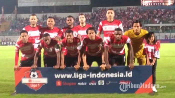Madura United Kalah dari Persipura 0-2 di Madura, Putuskan Rekor Tujuh Pertandingan Unbeaten
