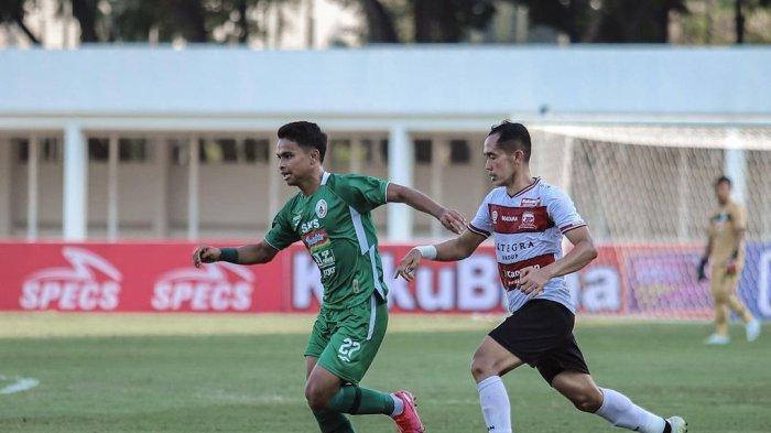 Gelandang Madura United Persembahkan Kemenangan Perdana Timnya Untuk Warga Madura