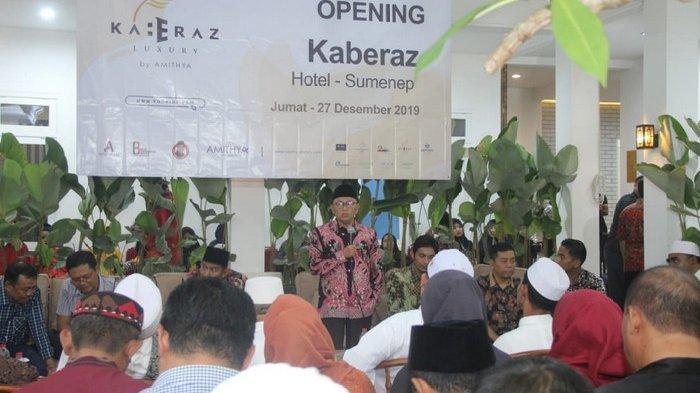 Usung Hotel Budged, Hotel Kaberaz Luxury Rambah Sumenep Madura, Semua Pejabat Datangi Soft Opening
