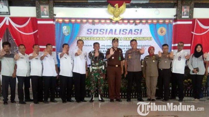 Pemkab Sampang GelarSosialisasi Pencegahan Pungli dan Korupsi, Ini Langkah AparatPenegak Hukum