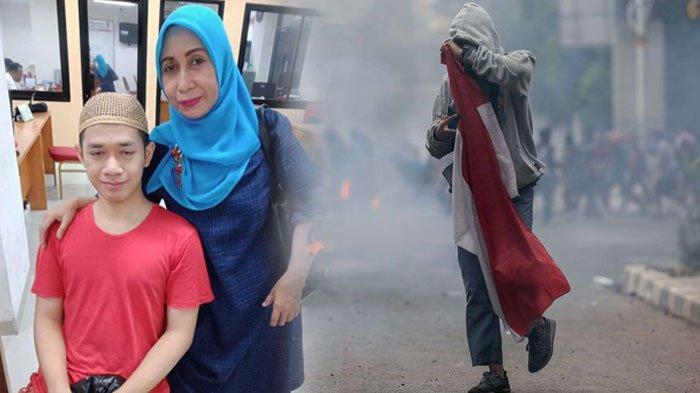 Pemuda Demo Bawa Bendera Merah Putih yang Viral Kini Masih Ditahan, Ibunda Beber Kabar Anaknya