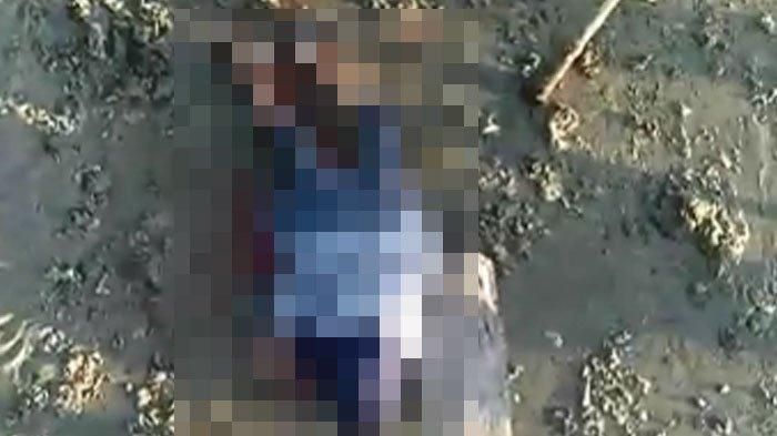 Viral di WhatsApp, Wanita Bersimbah Darah Tergeletak di Pinggir Pantai, Saksi Ungkap Penyebab
