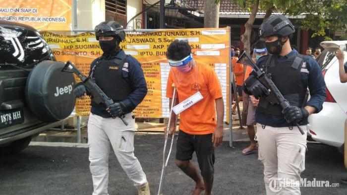 Spesialis Aksi Pencurian Sepeda Motor di Halaman Masjid Bangkalan Ditangkap,Polisi Buru 7 Sindikat