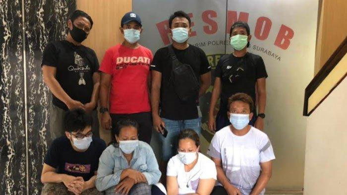 Spesialis Pencurian HP di Pasar Minggu Tugu Pahlawan Surabaya Ditangkap, Pelaku Berbagi Peran