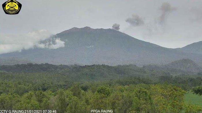Status Gunung Raung Waspada Level II, Wisatawan Dilarang Aktivitas dalam Radius 2 Km dari Kawah