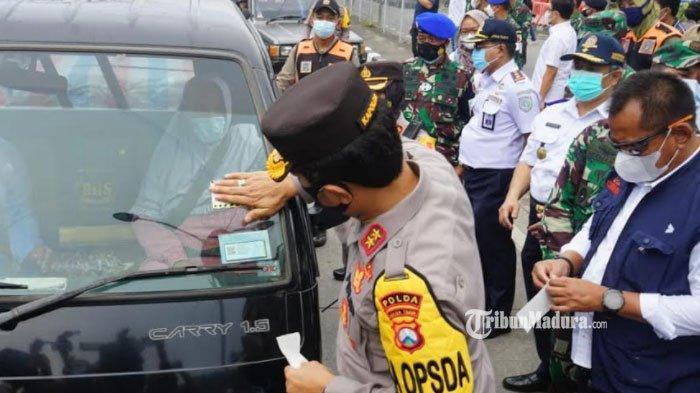 Kendaraan yang Ditempeli Stiker Khusus Boleh Melintas di Surabaya, Dianggap Tak Ada Keperluan Mudik