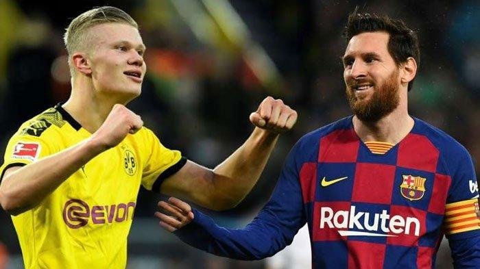 Bantah Kejar Messi, Manchester City Disebut Lebih Baik Dapatkan Erling Haaland: Stiker Muda Menarik