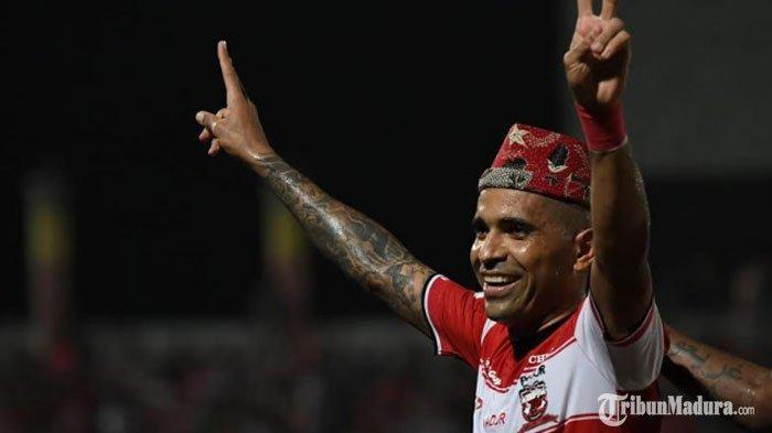 Madura United Belum Beri Izin Peminjaman Beto Goncalves ke Sriwijaya FC, Tunggu Keputusan RD