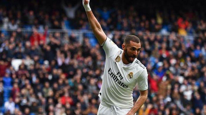 Striker Real Madrid Ucapkan Alhamdulillah Lewat Cuitannya di Twitter Usai Cetak Dua Gol