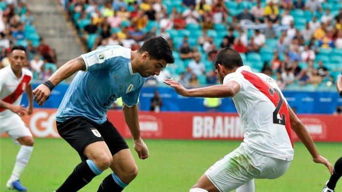 Copa America 2019 - Gara-gara Luiz Suarez, Uruguay Menangis di Perempat Final Kalah dari Peru