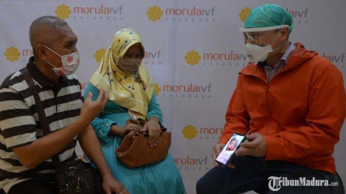 Kisah Pasutri Madura Punya Anak setelah Tunggu 21 Tahun, Kumpulkan Biaya dari Hasil Jualan Keripik