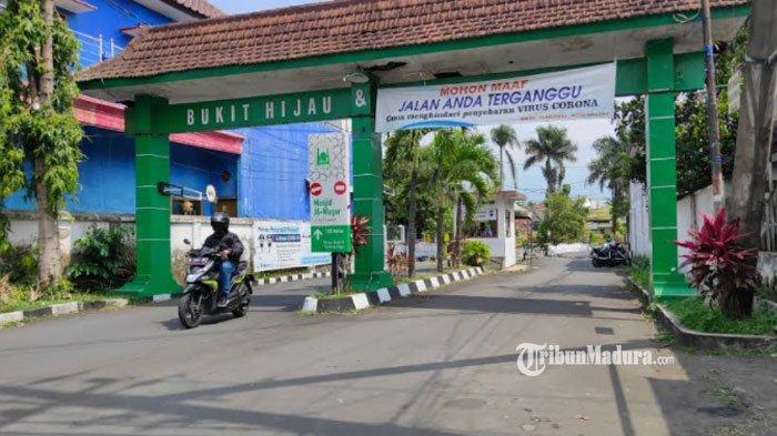 Suasana di Perumahan Bukit Hijau dan Permata Hijau, Tlogomas, Kota Malang, Senin (17/5/2021).