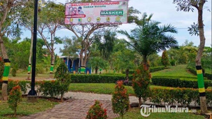 Fasilitas di Taman Wiyata Sampang Raib Digondol Maling, Pencuri Bawa Kabur Pompa Air dan Profil Tank