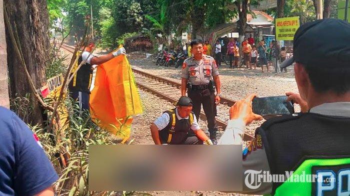 Baru Saja Turun dari Angkutan Umum dan Hendak Menyeberang, Wanita ini Tewas Disambar Kereta Api