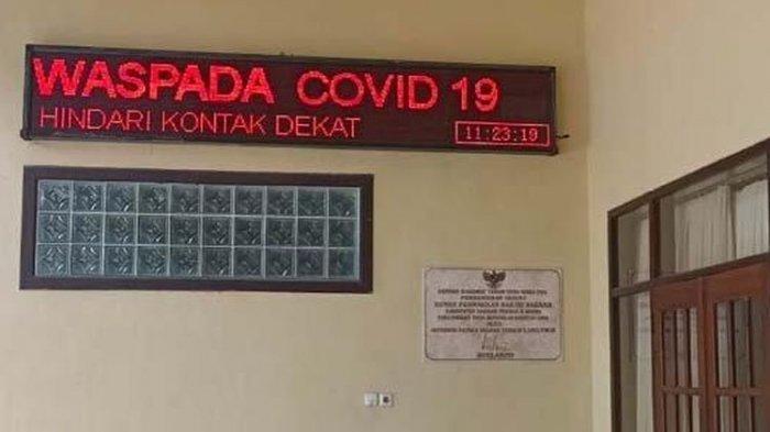 Gedung DPRD Kabupaten Kediri Lockdown Buntut 5 Anggota Positif Covid-19 Setelah Kunker ke Cirebon