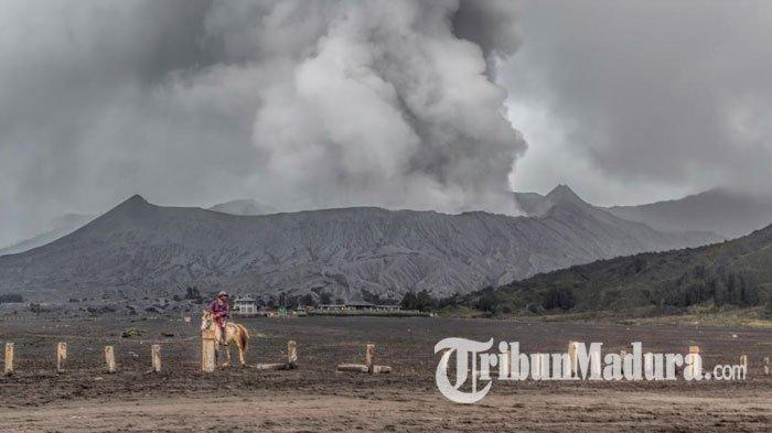 Aktivitas Gunung Bromo Kembali Meningkat, Tercatat Letusan Disertai Hujan Abu Sebanyak 28 Kali