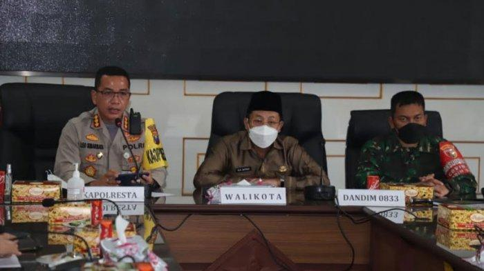 Evaluasi PPKM Mikro, Kapolresta Malang Sebut Zona Kuning Covid-19 Bertambah Menjadi 206 Wilayah