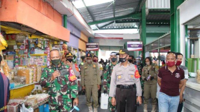Satgas Gabungan Kota Malang Gelar Operasi Cipta Kondisi, Sasar Pasar Klojen dan Pasar Oro Oro Dowo