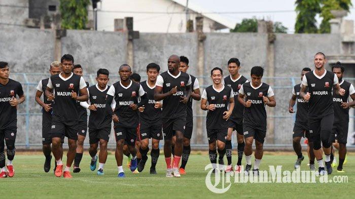 Uji Coba Hadapi Timnas U-22, Kesempatan Madura United Coba Semua Pemainnya