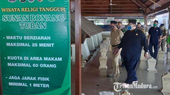 Wisata Religi Makam Sunan Bonang Tuban Kembali Dibuka, Ada Aturan Protokol Kesehatan bagi Pengunjung