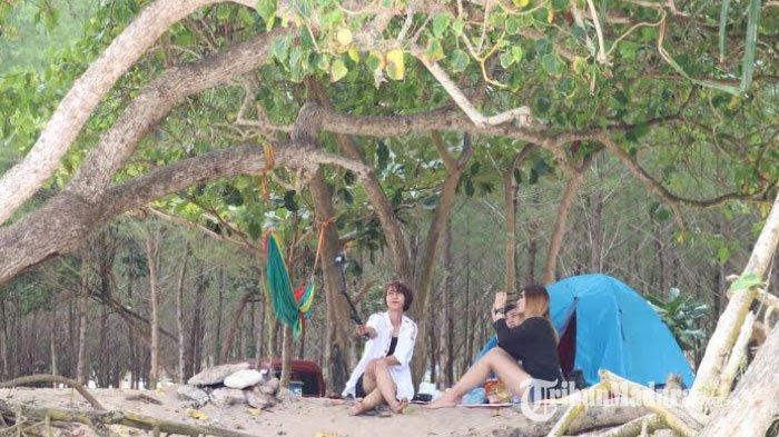Obyek Wisata Pantai di Wilayah Malang Selatan Sudah Dibuka Namun Masih Sepi Pengunjung