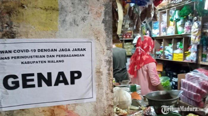 Aturan Berkunjung ke Pasar di Malang selama Masa New Normal, Pedagang Wajib Pakai Sarung Tangan